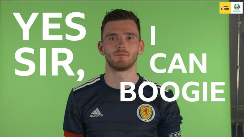 BBC Scottish Symphony Orchestra boogies ahead of Scotland's Euro 2020 campaign