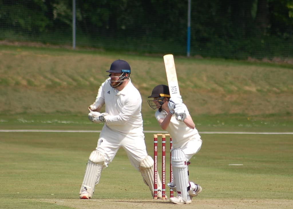 Cricket News - Dumfries lose out to title challengers Prestwick