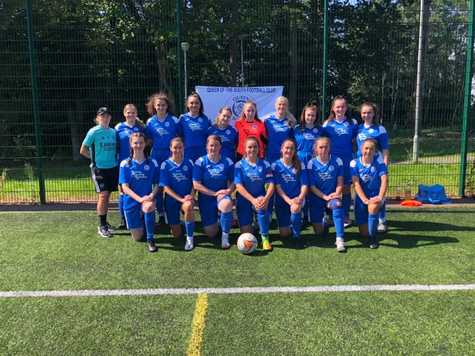QUEENS LADIES LOSE OUT AT GIFFNOCK