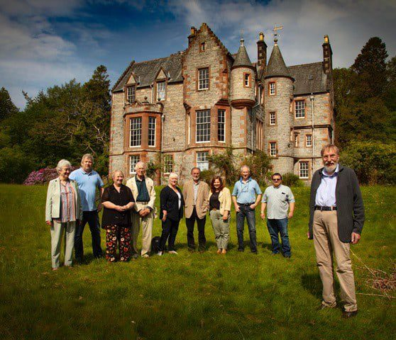 Scottish Government handed over Shambellie House to the local Trustees