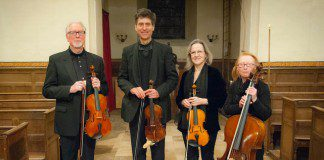 Violinist hits the right note at Challoch Doors Open event