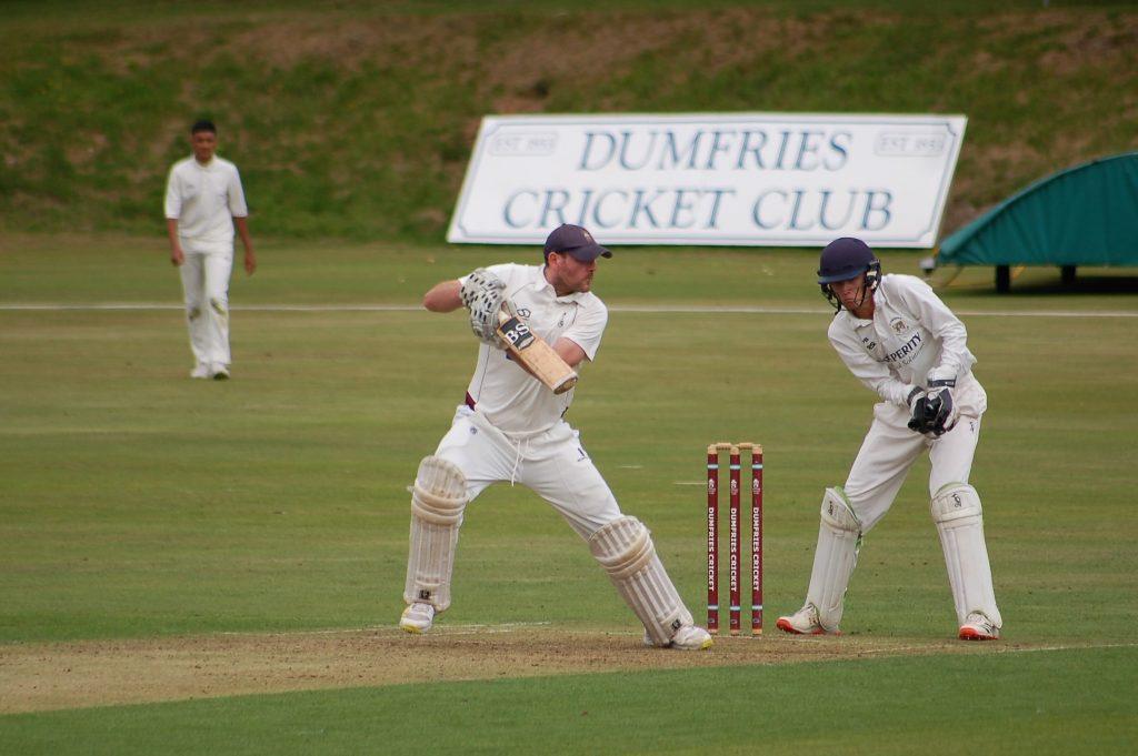 Dumfries Cricket Club v Premier League leaders Clydesdale