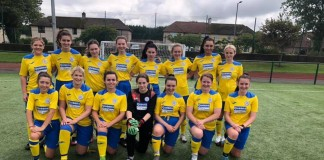 QUEENS LADIES TAKE SWEEPING VICTORY IN LOCAL DERBY