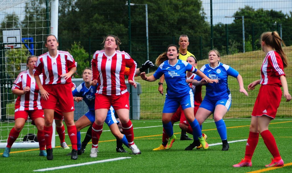 QUEENS LADIES BACK ON FORM WITH WIN AGAINST KILWINNING