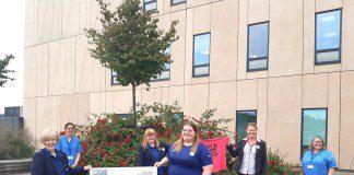 MICHELLE RAISES £1100 FOR D&G CANCER TEAMS