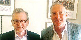 Mundell Meets With Fellow TradeEnvoy Ian Botham