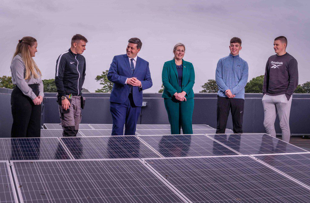Green Energy Skills Academy Opens at Dumfries and Galloway College