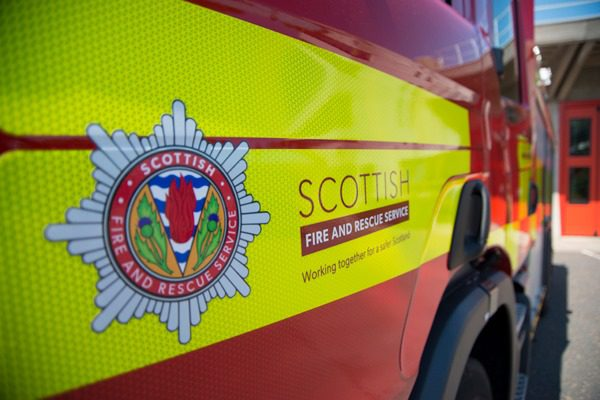 SFRS stands with UK emergency services family to mark Emergency Services Day