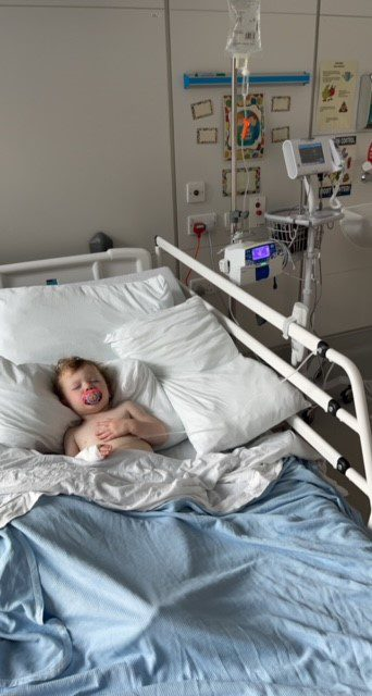 Local family in desperate plea to raise funds for toddler's brain tumour treatment