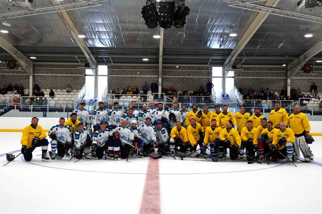 Sharks reunited in good cause
