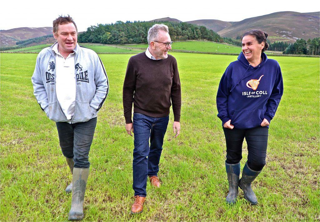 Walking a hill farm on net-zero journey
