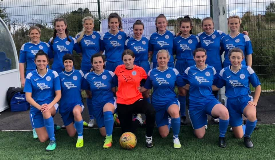 QUEENS LADIES DRAW WITH BISHOPTON
